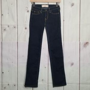 NWOT Hollister Dark Wash Skinny Jeans Size 00S